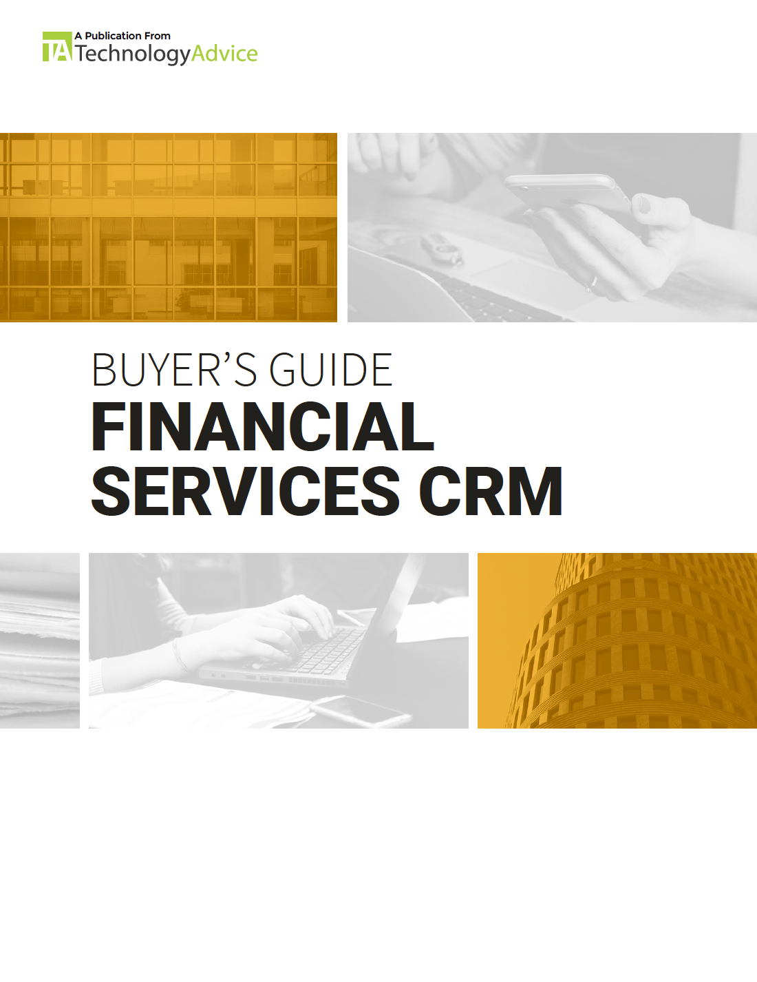 Buyer's Guide to Financial Services CRM