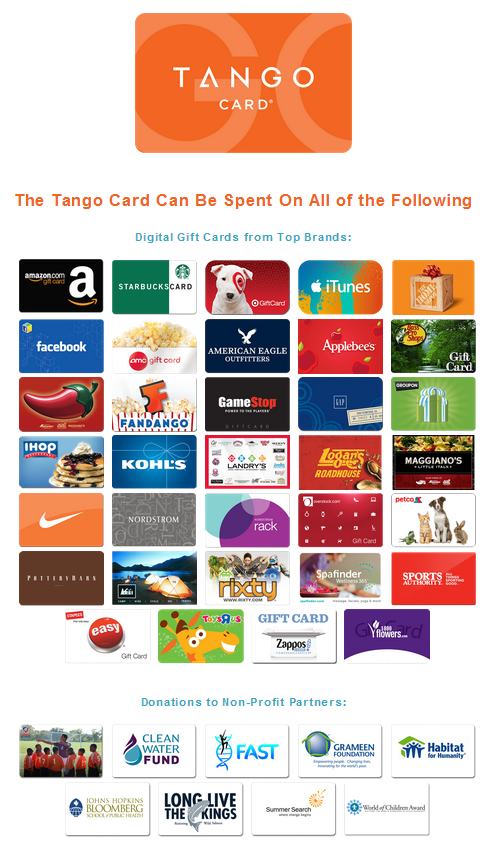 Tango Card Reviews | TechnologyAdvice