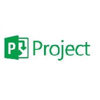 Microsoft Project Software Logo