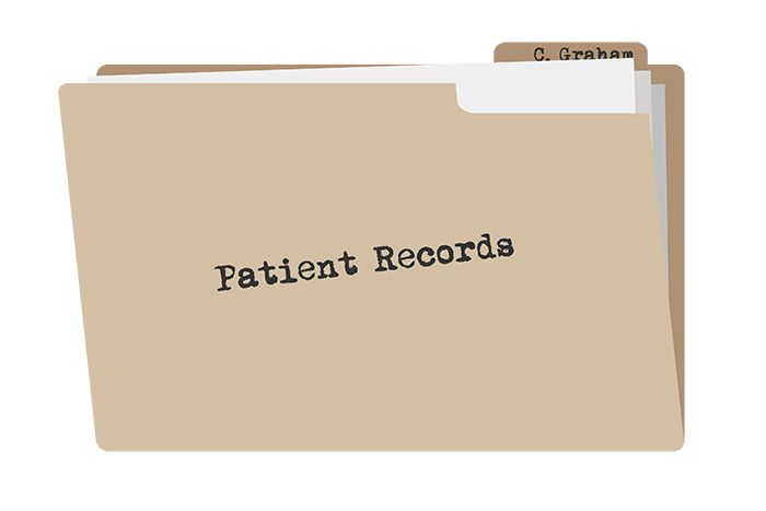 ehr vendors patient records folder