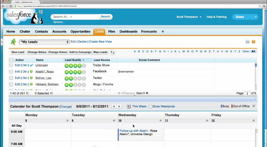 Salesforce.com Sales Cloud Reviews