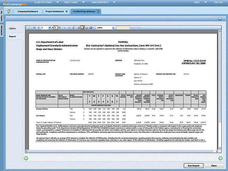 Viewpoint procontractor reviews technologyadvice for Maxwell construction software