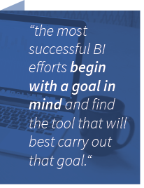 the most successful bi efforts