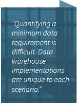 data warehousing quote
