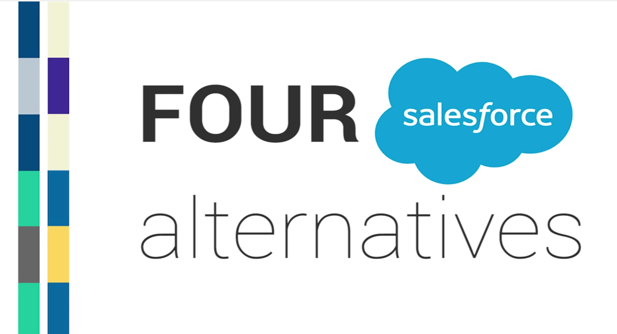 4 alternatives to salesforce