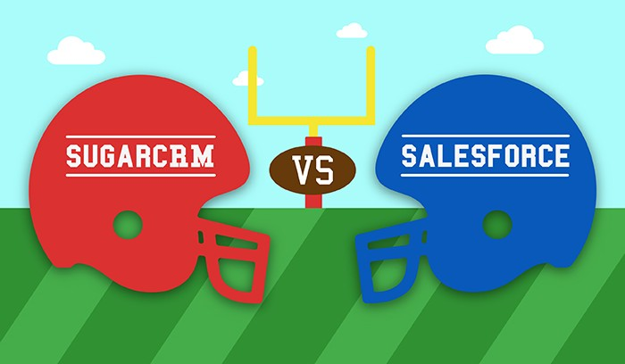 SugarCRM vs. Salesforce: CRM for Sales, Marketing, and Service