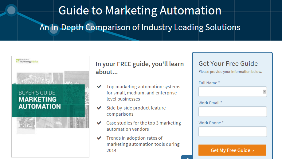 marketing automation guide web form
